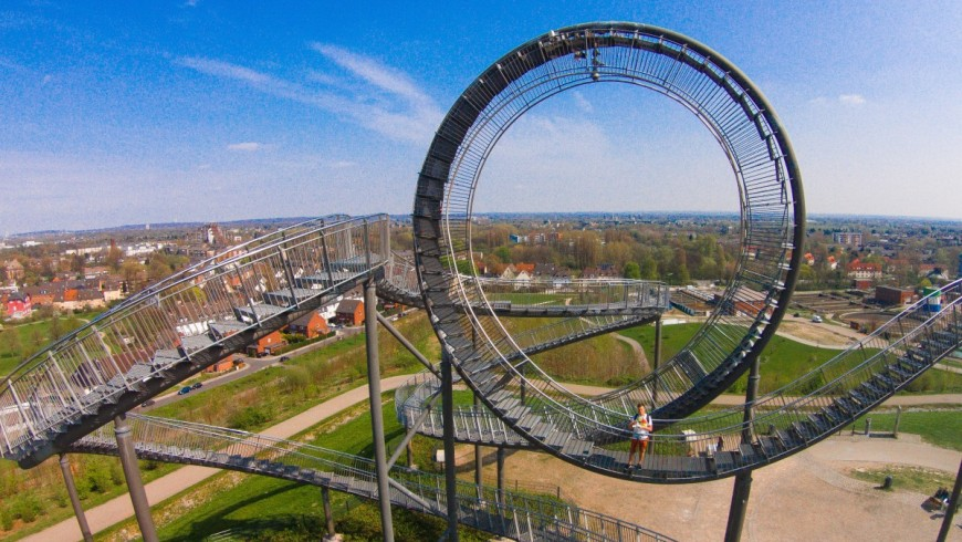 Tiger and Turtle, Duisburg